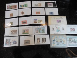 G31 LOT of stamps Liberia 1942 Fauna set monkey 1892 2 dollars 1909 20c ... - $11.63