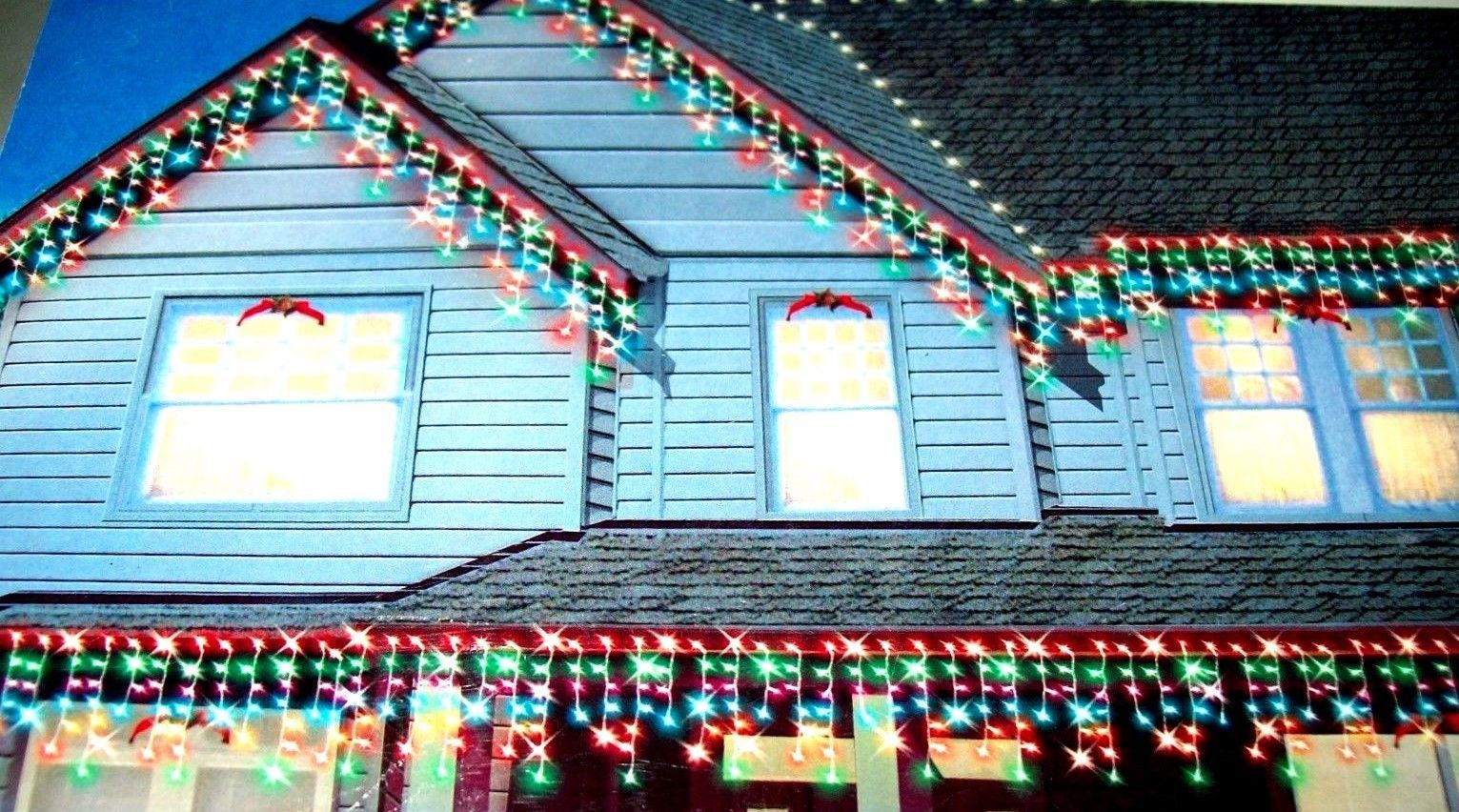 600 Multi Color Icicle String Lights New and 50 similar items
