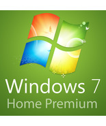Microsoft Windows 7 Home Premium SP1 32/64bit Lifetime OFFICIAL | FULL K... - $9.99