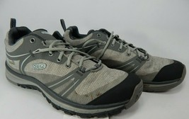 Keen Terradora Low Top Size 7.5 M (B) EU 38 Women's WP Hiking Shoes Grey 101650