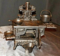 Cast Iron Stove Replica with Accessories AA20-2309 Antique