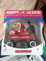 1997 Radio Flyer Christmas Collection Tabletop Ornament Wagon Teddy Bear... - $19.75