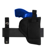 "New Barsony 360Carry 12 Option OWB IWB Cross Draw Holster for 2"" Revolvers - $26.99"