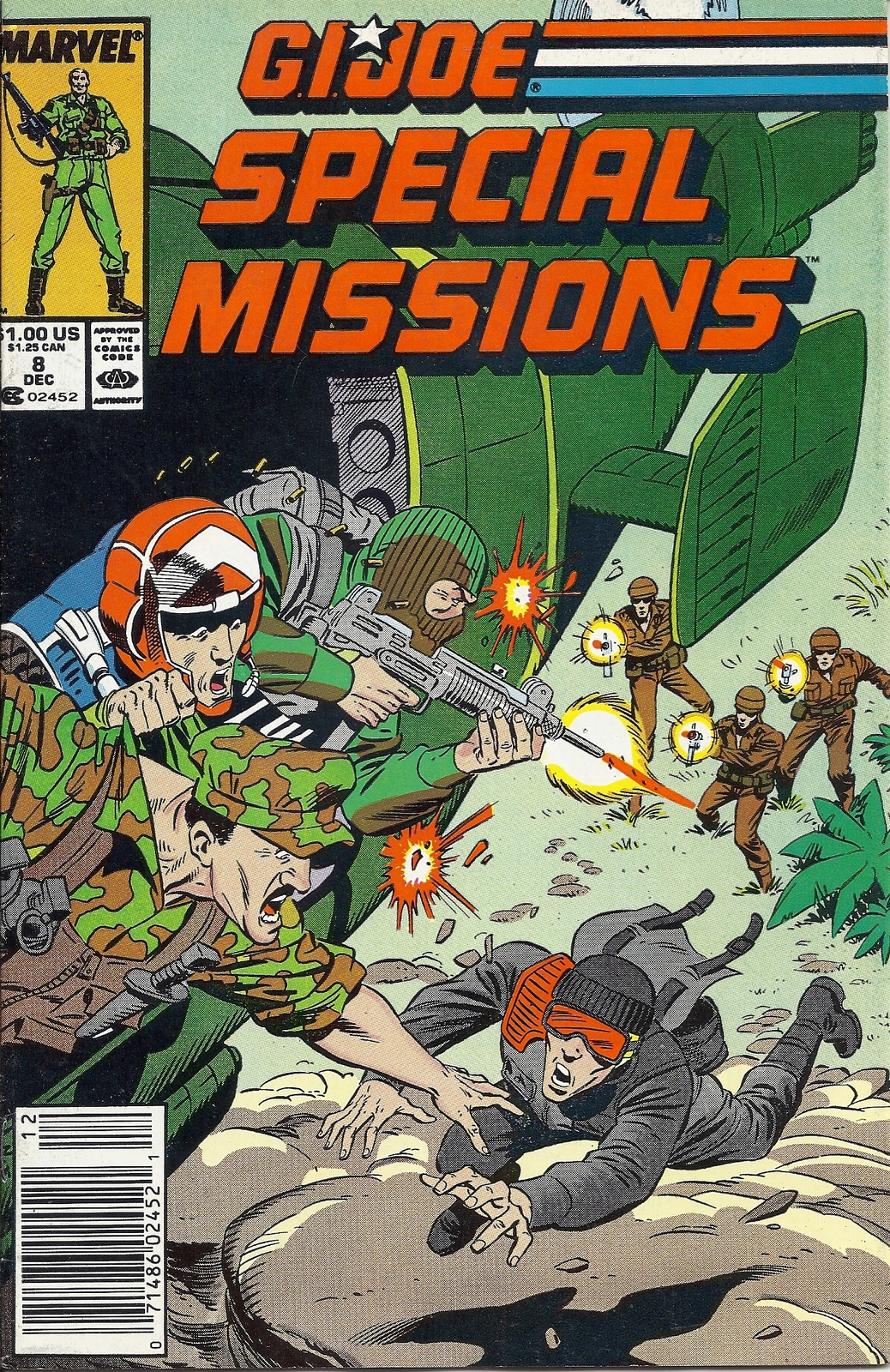 (CB-1} 1987 Marvel Comic Book: G.I. joe - Special Missions #8