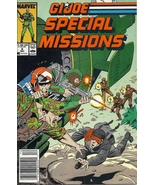 (CB-1} 1987 Marvel Comic Book: G.I. joe - Special Missions #8 - $3.00