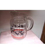 Vintage Federal Glass Scotch Ball Pitcher with Ice Lip--1950's - $45.00