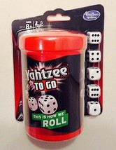 Yahtzee to Go Travel Game - New / Sealed - $13.84
