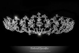 Lynette Vintage Filigree Tiara | Swarovski Crystal - $69.95