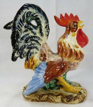Vintage Lefton Japan Porcelain Rooster Figurine - $30.00
