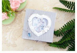1Pc DIY Wooden Chic Jewelry Square Box Vintage Style Craft Photo Frame O... - $27.99+