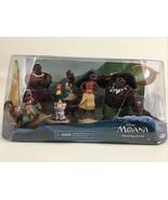Disney Moana Island Figurine Set 5 Figures Maui Pua Hei Hei Sina Tui 201... - $35.59