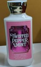 Bath & Body Works Twisted Peppermint Lotion Shea & Vitamin E 8oz - $13.25