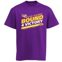 LSU Tigers Football 2014 Outback Bowl 4 Victory t-shirt NWT NCAA SEC Geaux new - $19.99