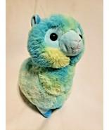 Inter-American Products Llama Plush Stuffed Animal Blue Green Yellow Tie... - $24.73
