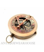 Antique Brass Working Compass Nautical Ship Navigation Collectible Compa... - $7.68