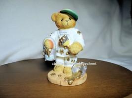 Cherished Teddies Anthony RARE Version Gold Understamp 2000 NIB - $30.64
