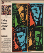 Living Colour Times Up Rock Music 1990 Recording Essay Article Anthony R... - $14.99