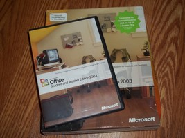 Microsoft Office Student and Teacher Edition 2003 in Box - $18.80