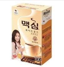 MAXIM Mocha White Gold Mild Instant Coffee Mix - 100 Sticks - $31.63