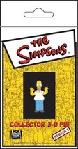 The Simpsons TV Show Homer Figure with Arms Out 3-D Rubberized Pin, NEW ... - $7.84