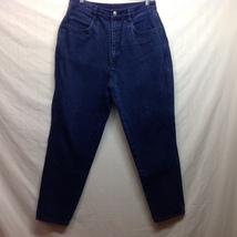 Bill Blass High Waisted Blue Jeans Sz 14 Petite