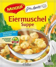 Maggi EIERMUSCHEL Soup - 4 servings -Made in Germany- FREE SHIP sAle exp... - $5.60