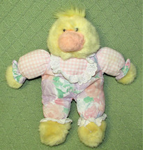 "12"" Commonwealth YELLOW DUCK 1993 Plush Stuffed Vintage Animal Pajamas O... - $34.65"