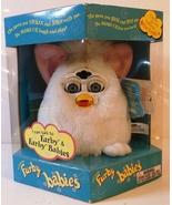 1999 Hasbro Furby Babies White w/Pink Ears Blue Eyes Model 70-940 Brand New - $39.95