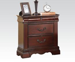 Acme Furniture 20733 Estrella Nightstand, Dark Cherry, One Size - $265.41