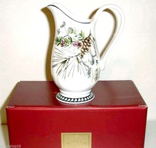 """Lenox Etchings Creamer Footed 7"""" Pitcher Made in USA $100 New In Box - $42.99"""