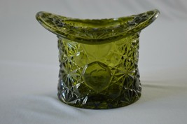 Fenton Daisy Button Large Olive Green Top Hat - $7.92