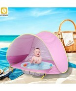 Tent Baby Beach UV-Protecting Toys Small House Waterproof Portable Ball ... - $29.69+