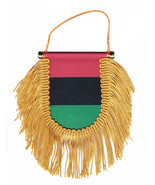 African American Window Hanging Flag (Shield) - $8.39