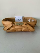 1999 Longaberger Woven Memories Basket with plastic liner - $15.00