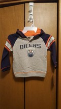 NEW! NHL Kids Youth 4T Edmonton Oilers Hockey Hoodie Hooded Sweat Shirt Top - $18.46