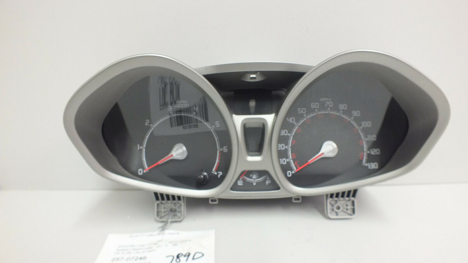 Primary image for 13 2013 FORD FIESTA SE 1.6L AT INSTRUMENT CLUSTER DE8T-10849-CC (25k miles)#789D