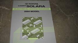 2004 Toyota Camry Solara Electrical Wiring Diagram Service Manual Ewd Factory 04 - $9.86