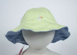 Gymboree Girl Hat 5 6 7 Rainbow Sherbert Sherbet Lemonade Reversible Hat New - $4.94