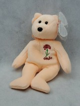TY I LOVE OHIO SCARLET CARNATION BEANIE BABY - STATE EXCLUSIVE (A) - $4.50