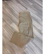 Nike Dri-Fit Flat Front Standard Fit Dark Khaki Golf Pant 597323 237 - S... - $45.00