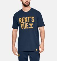 Under Armour Mens Project Rock Rents Due Training T-Shirt 1345812 Academ... - $26.66