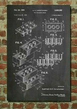 "Lego Patent Poster 20x24"" JP London inc. washable and repositionable - $22.80"