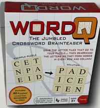 New! WordQ Game The Jumbled Crossword Brainteaser Continuum Games - $12.62