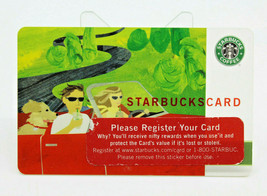 Starbucks Coffee 2005 Gift Card Summer Road Trip Car Dog Zero Balance No... - $11.20