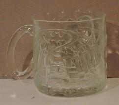 Lot of 3 1995 McDonalds Batman Forever 3D Etched Glass Cups - $19.75