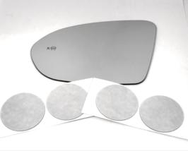 Fits 16-19 Cruz, 18-19 Regal Left Driver Mirror Glass Lens w/ BlindSpot ... - $40.54