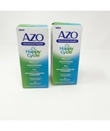 (2) AZO Happy Cycle Relieve Bloating Irritability & Cramping 30 Ct Exp 1... - $18.99