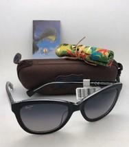 Polarized MAUI JIM Sunglasses CANNA MJ 769-02K Black On Crystal w/ Grey Gradient - $279.95