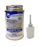 Weld-On 3 Acrylic Adhesive - 4 Oz and Weld-On Applicator Bottle with Needle - $19.95