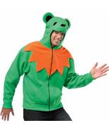 RASTA IMPOSTA HA HA HOODIE UNISEX GRATEFUL DEAD GREEN DANCING BEAR ADULT... - $36.00